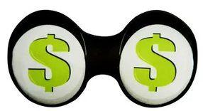 Mascara de Dormir Criativa Dinheiro