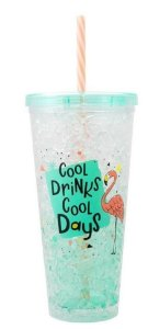 Copo Canudo 600ml Cool Drinks Cool Days