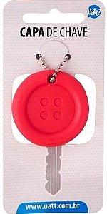 Capa De Chave Divertida - Botão