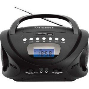 Rádio Am Fm Mp3 Com Entrada Usb E Auxiliar Vc5060 - Vicini