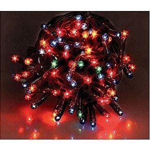 Pisca-Pisca Led 100 Leds Funcoes Para Decoração De Festa / Natal 5 metros -110v