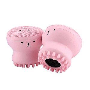 Esponja De Limpeza Facial Esfoliante Massageador Rosto