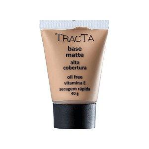 Base Matte Tracta Alta Cobertura Vitamina E 40g - 1 Unid.