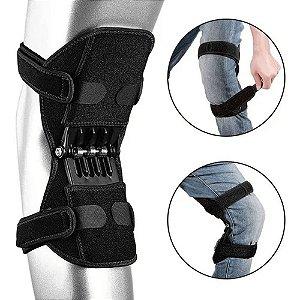 Suporte Joelho Com Molas Power Leg Knee Joint Pads Protetor De Joelho Estabilizador De Força