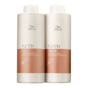 Wella Fusion - Kit Shampoo 1000ml + Condicionador 1000ml