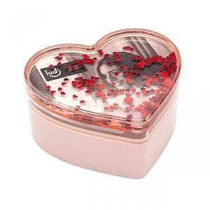 Caixa de Fotos Glitter Coração