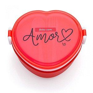 Minimarmita Coração Amor