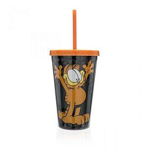 Copo Canudo Garfield