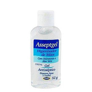 Álcool em Gel Antisséptico Asseptgel 52GR