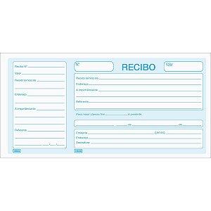 Recibo Comercial com Canhoto - 100 Folhas