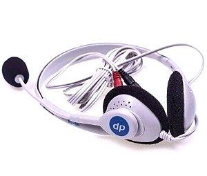 Fone e Ouvido com Microfone (Headset) DP HS-58