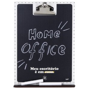 Prancheta Multiuso com Giz Home Office