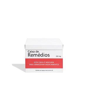 Caixa Remédios Tarja Vermelha