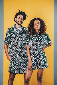Camisa Unissex - estampa PB tribal