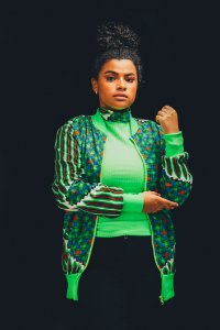 jaqueta NEON _ estampa Tribo