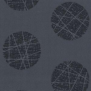 Papel de Parede Geométrico com Glitter