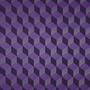 Papel de Parede Geométrico Roxo 3D