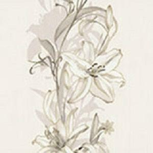 Papel de Parede Floral Branco