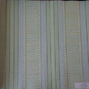 Papel de Parede Listrado Verde e Branco