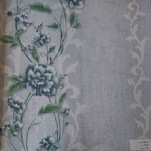 Papel de Parede Florido Off-White