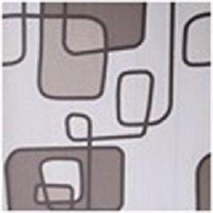 Papel de Parede Geométrico Marrom