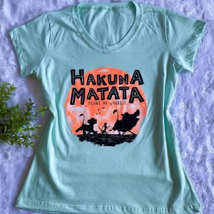 T-SHIRT ALGODÃO HAKUNA MATATA