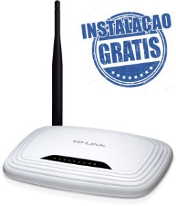 Roteador Wifi 150m Tp-link Tl-wr740n