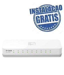 Switch D-link 08pts 10100 Des-1008c