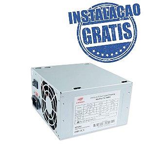 Fonte ATX 200w Ps-200v2 S/ Cabo Cinza C3tech
