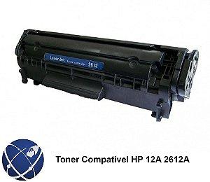 Toner HP 2612A | 12A | 2612 | 1010 | 1020 | 1022 | 3020 | 3050 | M1005 Compatível