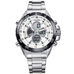 Relógio Masculino Weide Anadigi WH-1103 BR