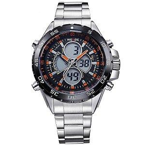 Relógio Masculino Weide Anadigi WH-1103 LR