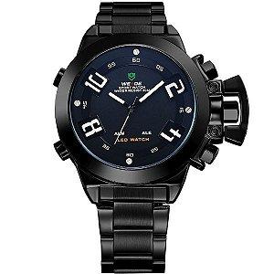 Relógio Masculino Weide Anadigi WH-1008 PT-BR