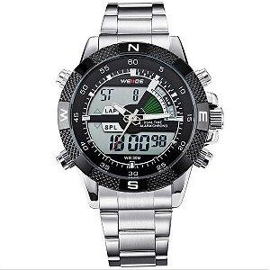 Relógio Masculino Weide Anadigi WH-1104 PT