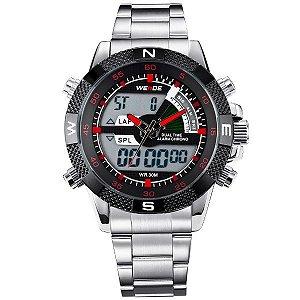 Relógio Masculino Weide Anadigi WH-1104 VM