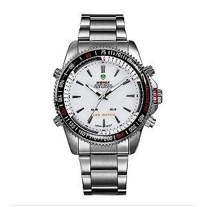 Relógio Masculino Weide Anadigi WH-903 PR-BR
