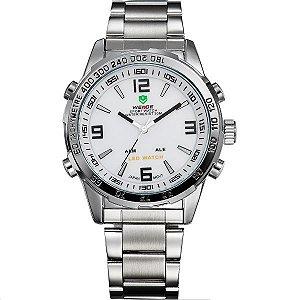 Relógio Masculino Weide Anadigi WH-1009 PR-BR