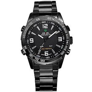 Relógio Masculino Weide Anadigi WH-1009 PT-BR