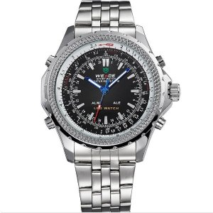 Relógio Masculino Weide Anadigi WH-904 PT