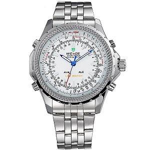 Relógio Masculino Weide Anadigi WH-904 BR
