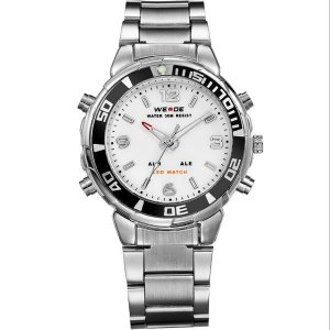 Relógio Masculino Weide Anadigi WH-843 PR-BR