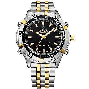 Relógio Masculino Weide Anadigi WH-905 PR-OU