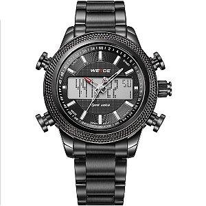 Relógio Masculino Weide Anadigi WH-3406 PT