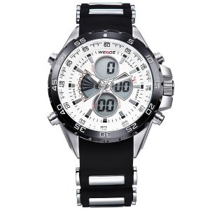 Relógio Masculino Weide Anadigi WH-1103 PT-BR