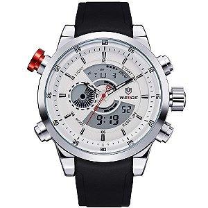 Relógio Masculino Weide Anadigi WH-3401 PR-BR