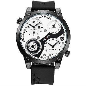 Relógio Masculino Weide Analógico  UV-1505 PT-BR