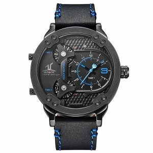 Relógio Masculino Weide Analógico  UV-1506 PT-AZ