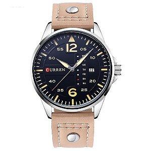 Relógio Masculino Curren Analógico 8224 BG