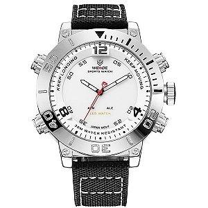 Relógio Masculino Weide Anadigi WH-6103 BR
