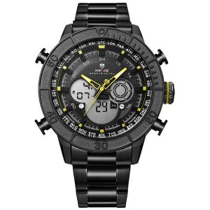 Relógio Masculino Weide Anadigi WH-6308 AM